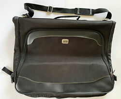 Jeep Suit Garment Bag Rugged Travel Equipment Black Canvas 41andrdquox24andrdquo Open