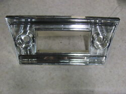 Nos 1967 67 Chevelle Radio Faceplate Face Plate 3897321 Ss 396 Gm