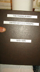 Franklin Mint United Nations Proofs - Sterling Silver Medals