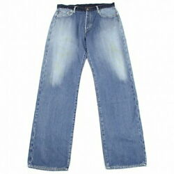 Yohji Yamamoto Pool Om Pour Homme Spotted Hose Waist Switching Painted Denim