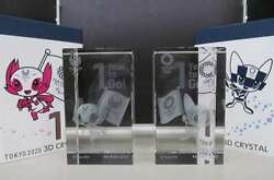 D Sports Merchandising Ornament Tokyo 2020 3d Crystal Olympics Limited To 2020