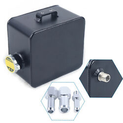 2.5l High Quality Aluminum Racing Fuel Cell Gas Storage Tank + Cap Heavy Duty Us