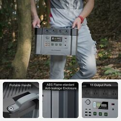 Allpowers Mini Portable Power Station 2000w Solar Generator For Home Use Camping