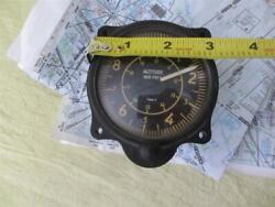 Us Gauge Co 1950 Piper Cub Altimeter Airplane Replacement Instrument Panel Parts