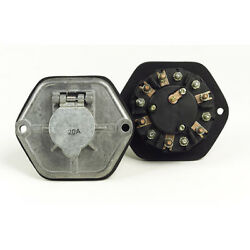 Grote 82-0858 Zinc Die Cast 7-way Socketbreakers - With 30a Circuits