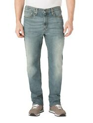 Signature Levi Strauss And Co Menand039s S67 Athletic Fit Jean Medium Wash W46 X L30