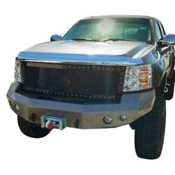 For Chevy Silverado 3500 Hd 08-10 Status Grilles 1-pc Blue Mesh Main Grille