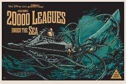 20000 Leagues Under The Sea By Ken Taylor - Rare Sold Out Mondo