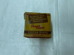 Mopar Collectible Andldquopower Punchandrdquo Piston Rings Vintage Display Boxes Man Cave Gift
