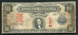 """1899 2/10 """"altered"""" Silver Certificate Currency Note Rare"""