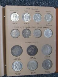 Huge Type Coin Set In Album -- 72 Total Coins Hi Grades And Rare Dates