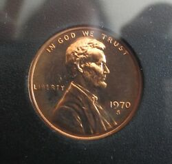 1970-s Small Date Proof Set With 40 Silver Kennedy Half.