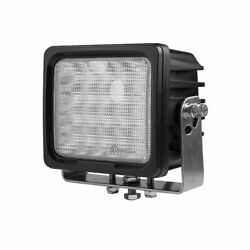 6 100w 12v Flood Beam Led Work Light For Agriculture Truck, Tractor, Suv, 4x4