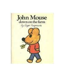John Mouse Down On The Farm By Hargreaves, Roger Hardback Book The Fast Free