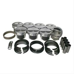 Wiseco Pistons Forged Dish 4.030 In. Bore Chevy Small Block Set Of 8 Pts508a3