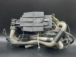 74 75 Cadillac Front Bench Seat Belt Ignition Interlock Control Wiring Harness