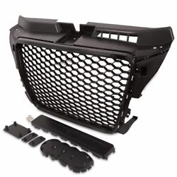High Quality Abs Plastic Black Gloss Grille For Audi A3 8p