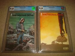 The Walking Dead 192 193 Cgc 9.8 White Pages 1st Print Image Comics Lot 2019
