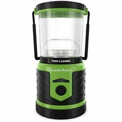 Brightest Led Rechargeable Lantern   Hurricane Camping Storm 400 Lumen Green