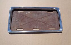 1957 58 59 Chrysler Desoto Dodge Plymouth Accessory Lic Plate Assembly 300 rare