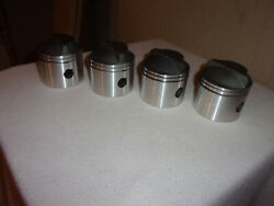 .030 0ver Pistons And Rings 85hp Johnson Evinrude 1974 - 1977 Small Bore V4 85