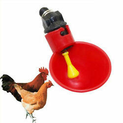 Poultry Water Drinking Cups Chicken Water Cup Machine Automatic S4s7