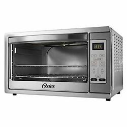 Oster Extra Large Digital Countertop Convection Oven Stainless Steel Tssttvdgx