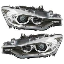 For Bmw 320i 328i 335i 328d And Xdrive Pair Hella Left And Right Headlight Set Tcp