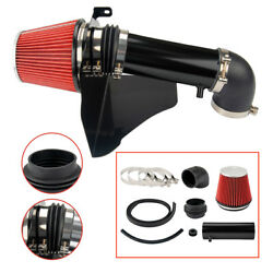 Black Performance Filter Induction Cold Air Intake For 2005-2010 300c / Charger