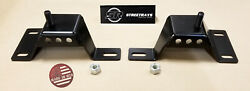 [sr] 96-04 Ford Mustang Gt 4.6 V8 Solid Engine Motor Mounts Pair Left And Right