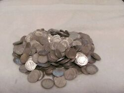 350 Roosevelt Dimes 90 Silver Average Circulation Various Dates And Mint Marks