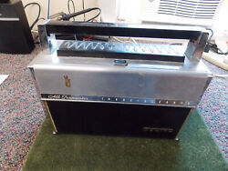 Vintage Zenith Royal 1000- Trans Oceanic Solid State Radio For Parts Or Repair.
