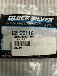 Genuine Mercury Quicksilver 12-39116 Washer New Factory Boat Part A 9