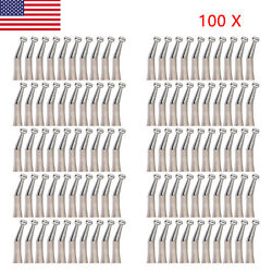 100 Dental Low Speed Contra Angle Handpiece Push External Water Nsk Style F