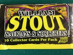 William Stout Saurians And Sorcerers 4 Ten Card Packs