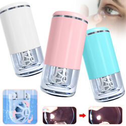 Contact Lens Ultrasonic Auto Cleaner Care Case Usb Rechargeable Cleaning Machine