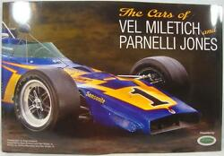 The Cars Of Vel Miletich And Parnelli Jones Book Indy 500 Johnny Lightning Spl.