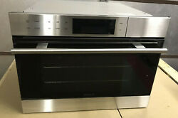 Wolf E Series Transitional Cso24te/s/th 24 Inch All In One Steam Convection Oven