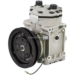 For Ford Lincoln Mercury Freightliner Ac Compressor And 1-groove A/c Clutch Tcp