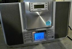 Audiovox Dms8770 Micro Cd Stereo System Mp3 Removable Cd/radio Player