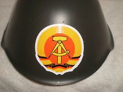 East German M56 Helmet Dated 1975 With Decal