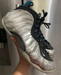 Nike Foamposite One chromeposite mirror nyc all star Qs 2015 size 10 READ