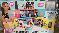Lol Surprise Clubhouse Maison Play-set Fold Up House 2 Exclusive Tots Doll