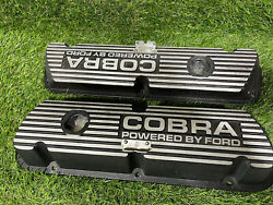 1965-1973 289 302 Ford Mercury Cobra Valve Covers Mustang Shelby