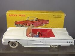 French Dinky Toys Model No.555 Ford Thunderbird Ca Vn Mibl Lot 3
