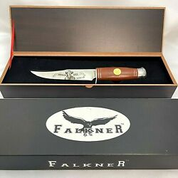 Falkner Buffalo Bill Limited Edition Knife In Box Stainless Steel 420 Prc