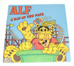 Vintage 1987 Alf Paperback Books Lot Of 2 - A Day At The Fair And Mission To Mars