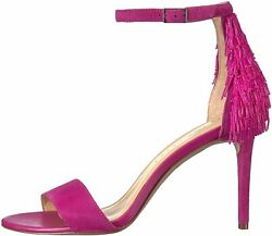 Katy Perry Women#x27;s The Kate Suede Ankle High Pump Fuchsia Size 9.0 oBmx $12.00
