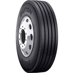 4 New Dayton D520s 12r22.5 Load H 16 Ply Steer Commercial Tires