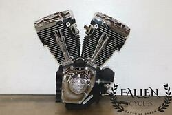 2007 Harley Electra Glide Touring Twin Cam A 96 Engine Motor 22732 Miles +video